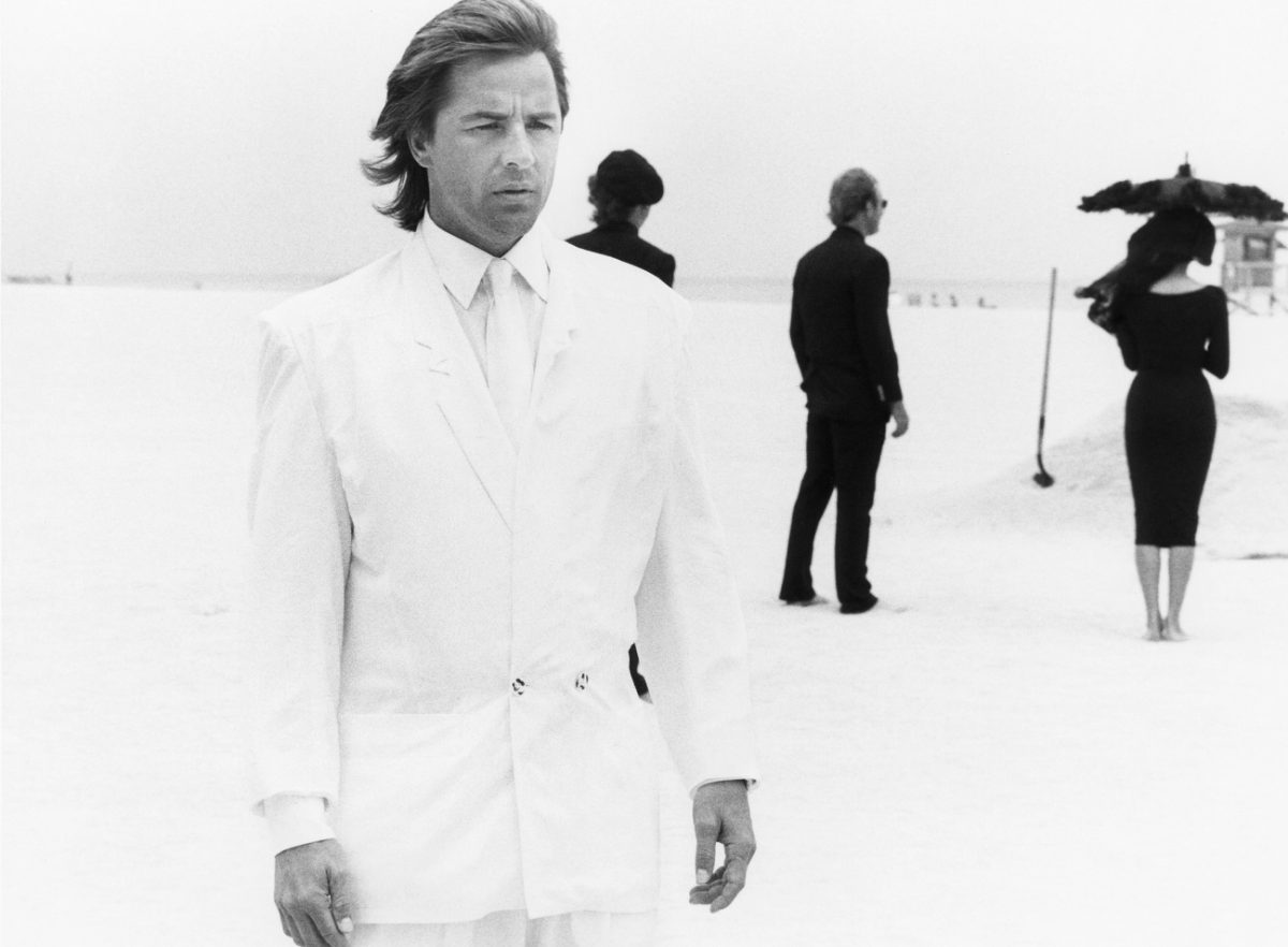 Don Johnson in a dream sequence from 'Miami Vice'