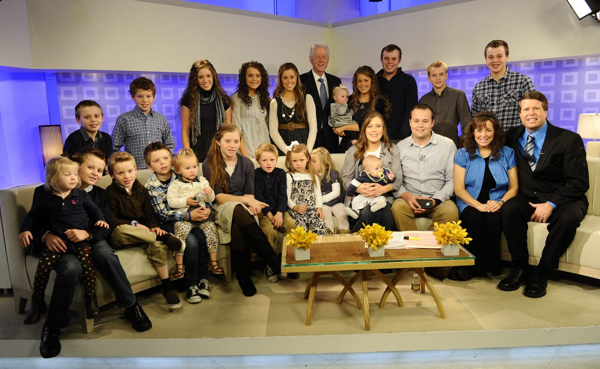 Members of the Duggar family on the Today show