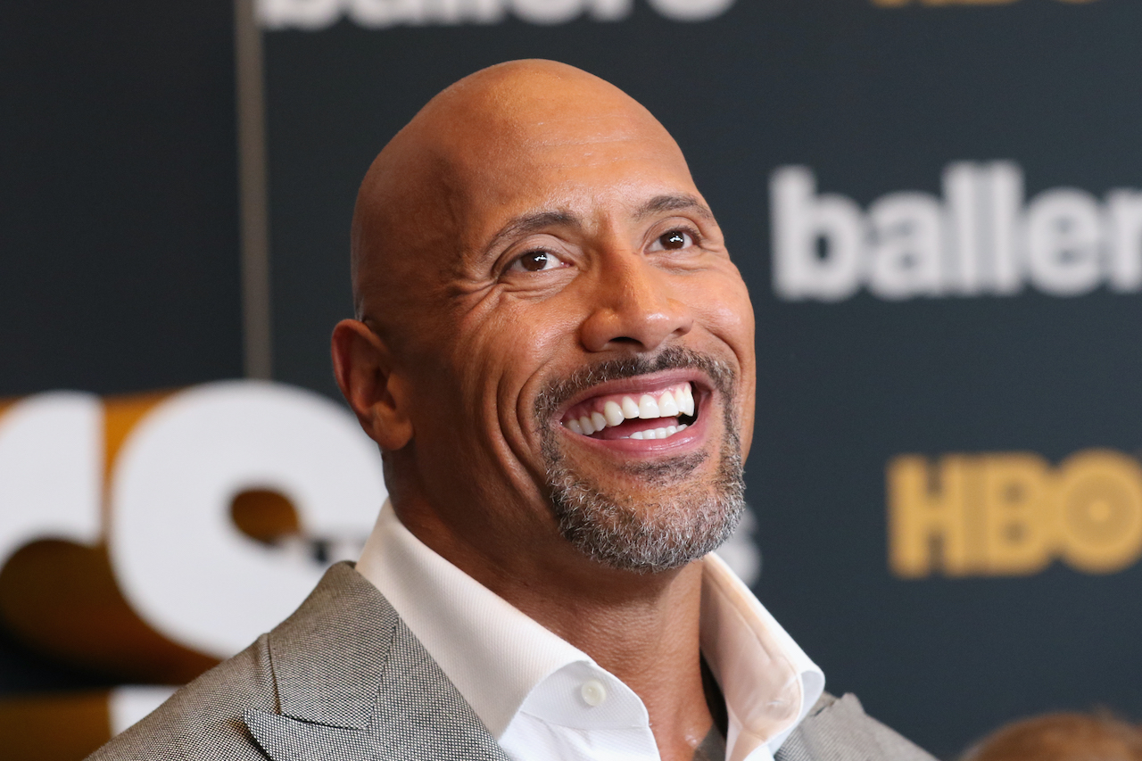 """Dwayne Johnson attends the HBO """"Ballers"""" Season 2 Red Carpet Premiere and Reception"""