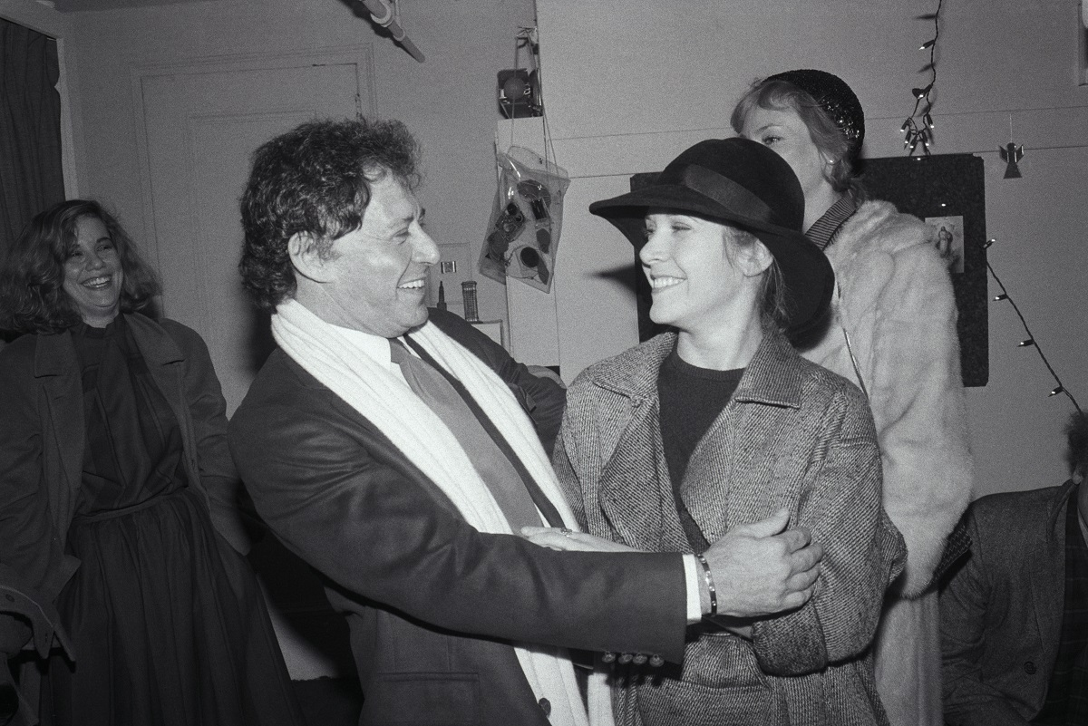 Eddie Fisher and Carrie Fisher