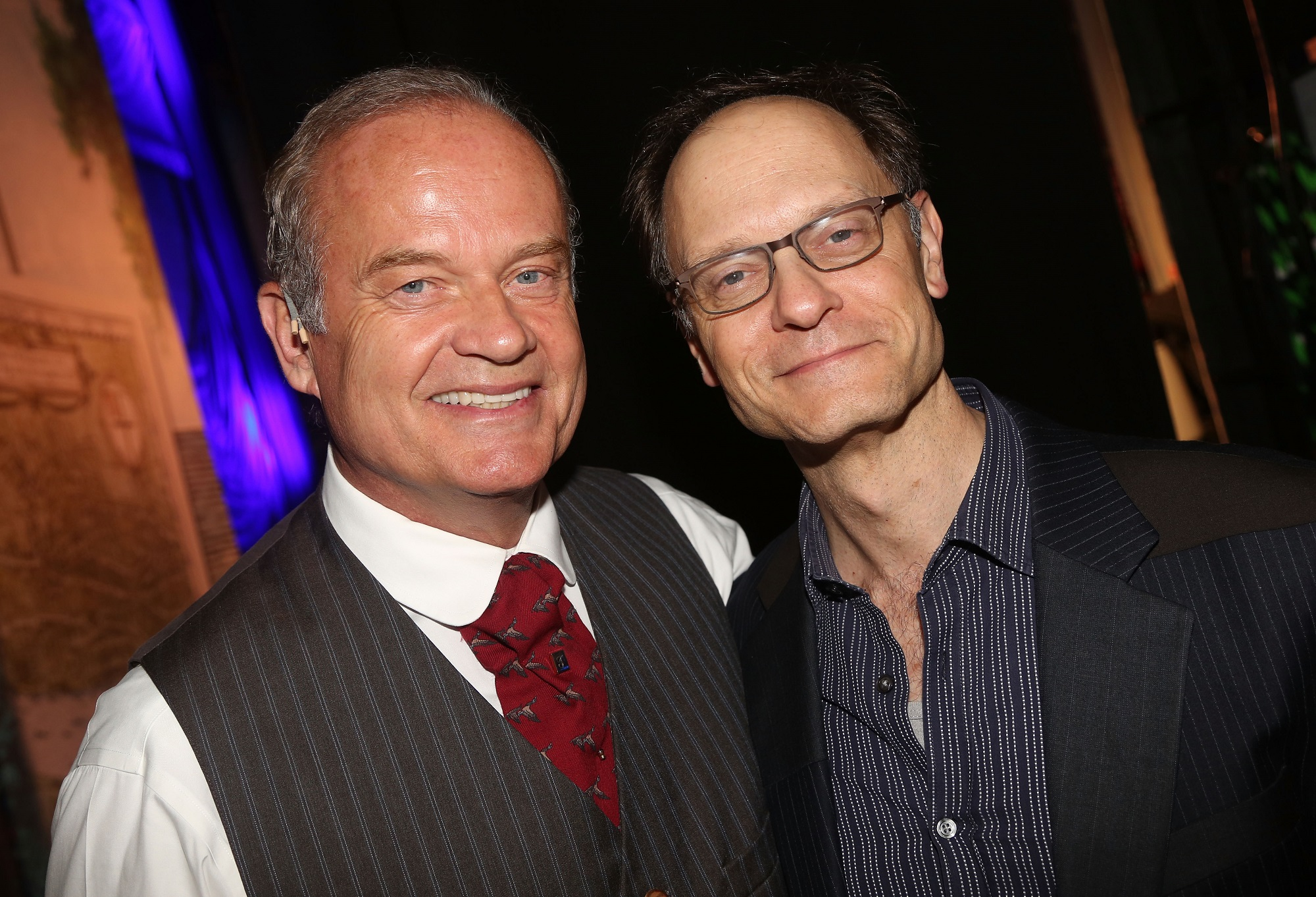 Kelsey Grammer and David Hyde Pierce of Frasier