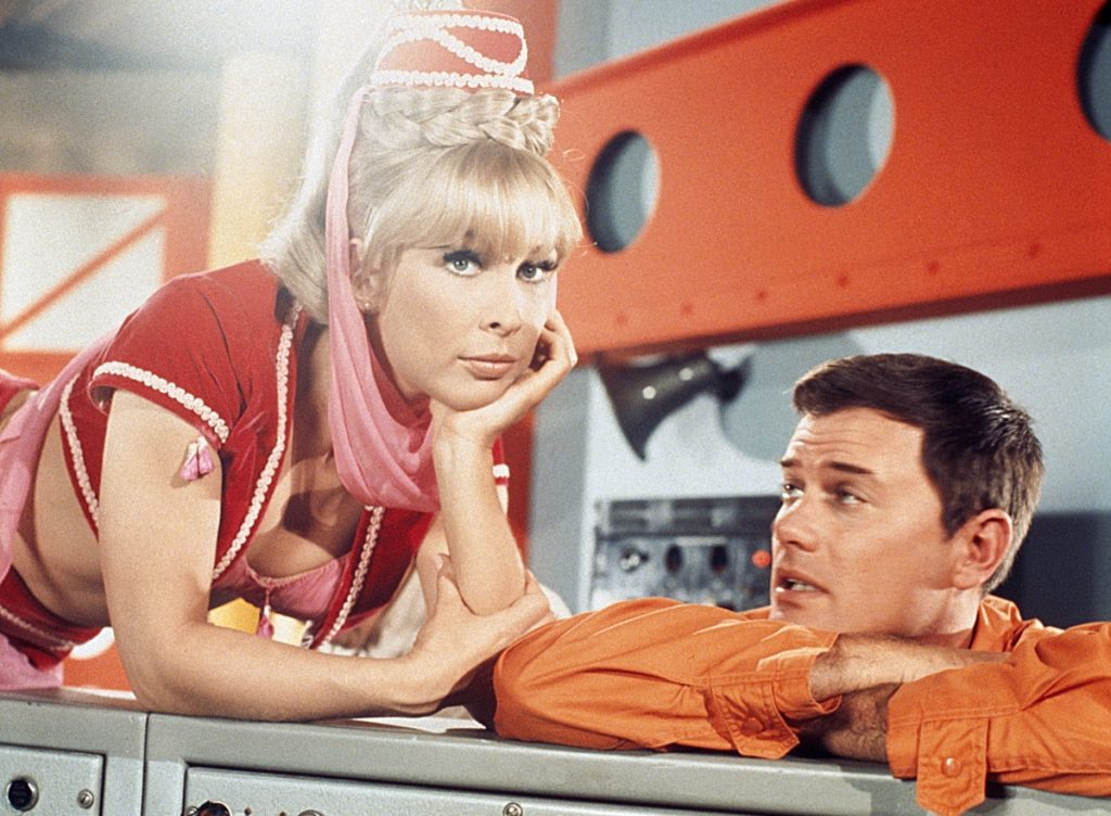 'I Dream of Jeannie' with Barbara Eden and Larry Hagman