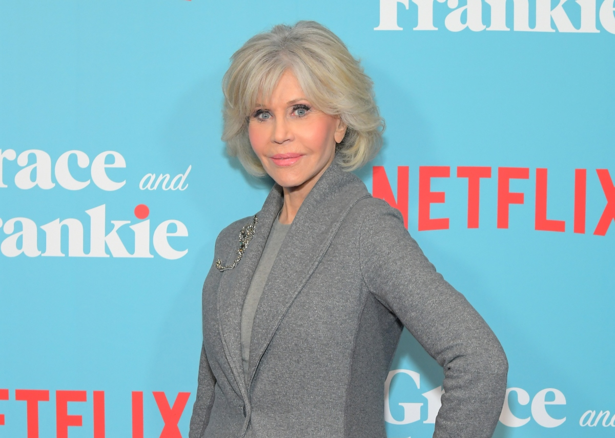 Jane Fonda attends 'Grace and Frankie' season 6 screening, 2020
