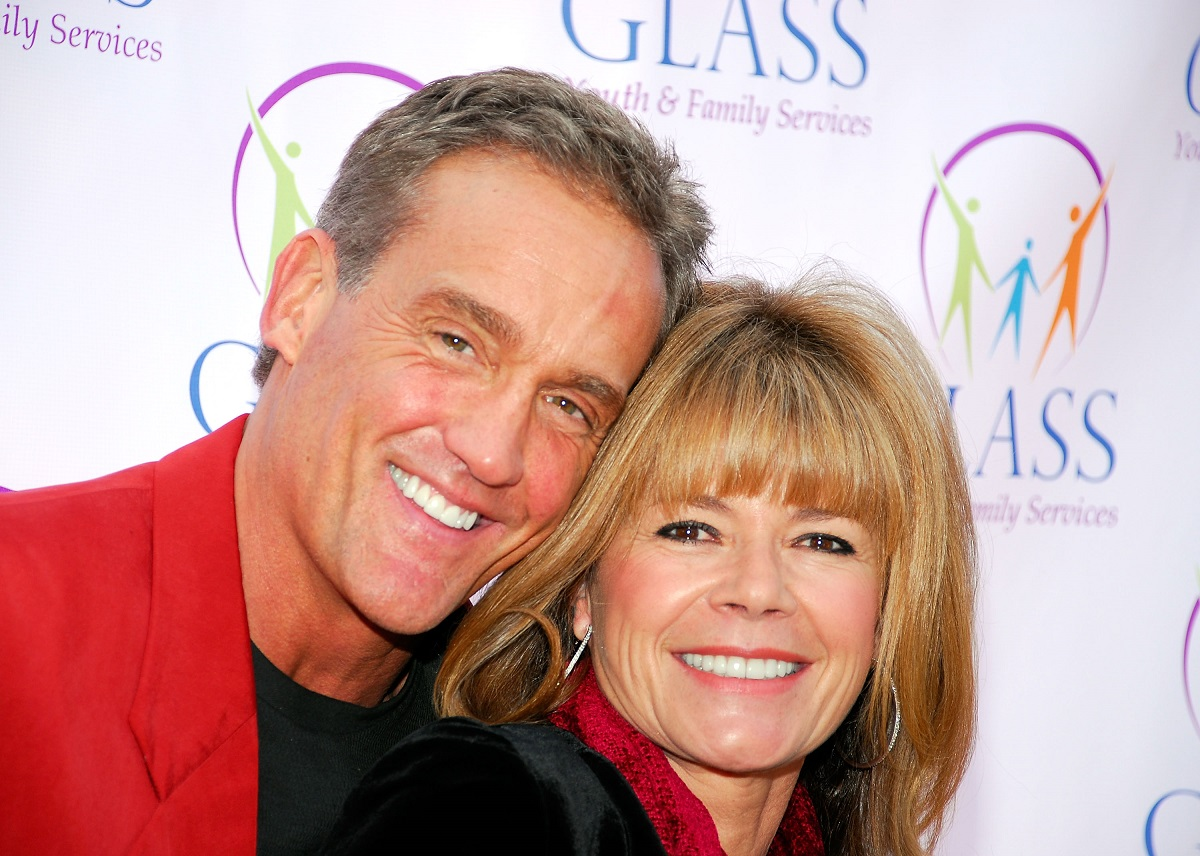 John Wesley Shipp and Mary-Margaret Humes on December 16, 2007 in Hollywood, California.