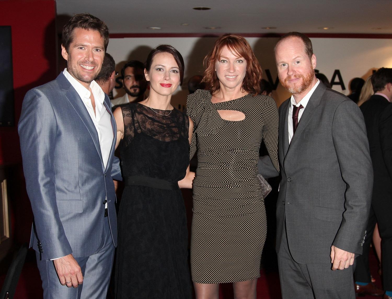 Joss Whedon and ex-wife Kai Cole