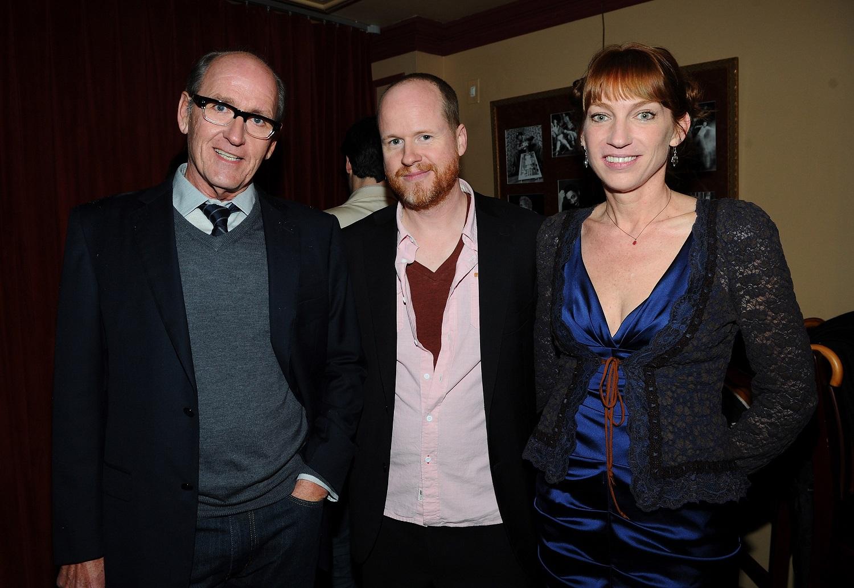 Joss Whedon and wife Kai Cole