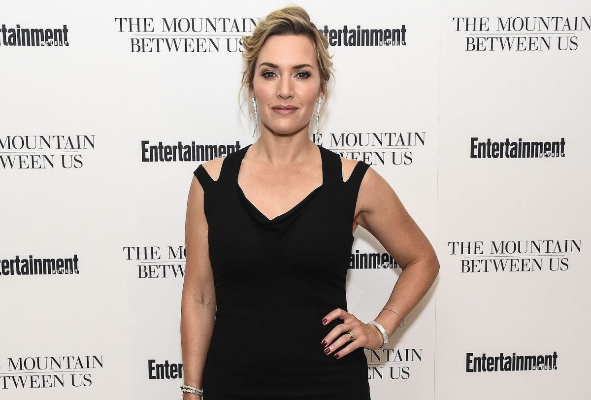 Kate Winslet attends the screening of 'The Mountain Between Us' on September 26, 2017 in New York City