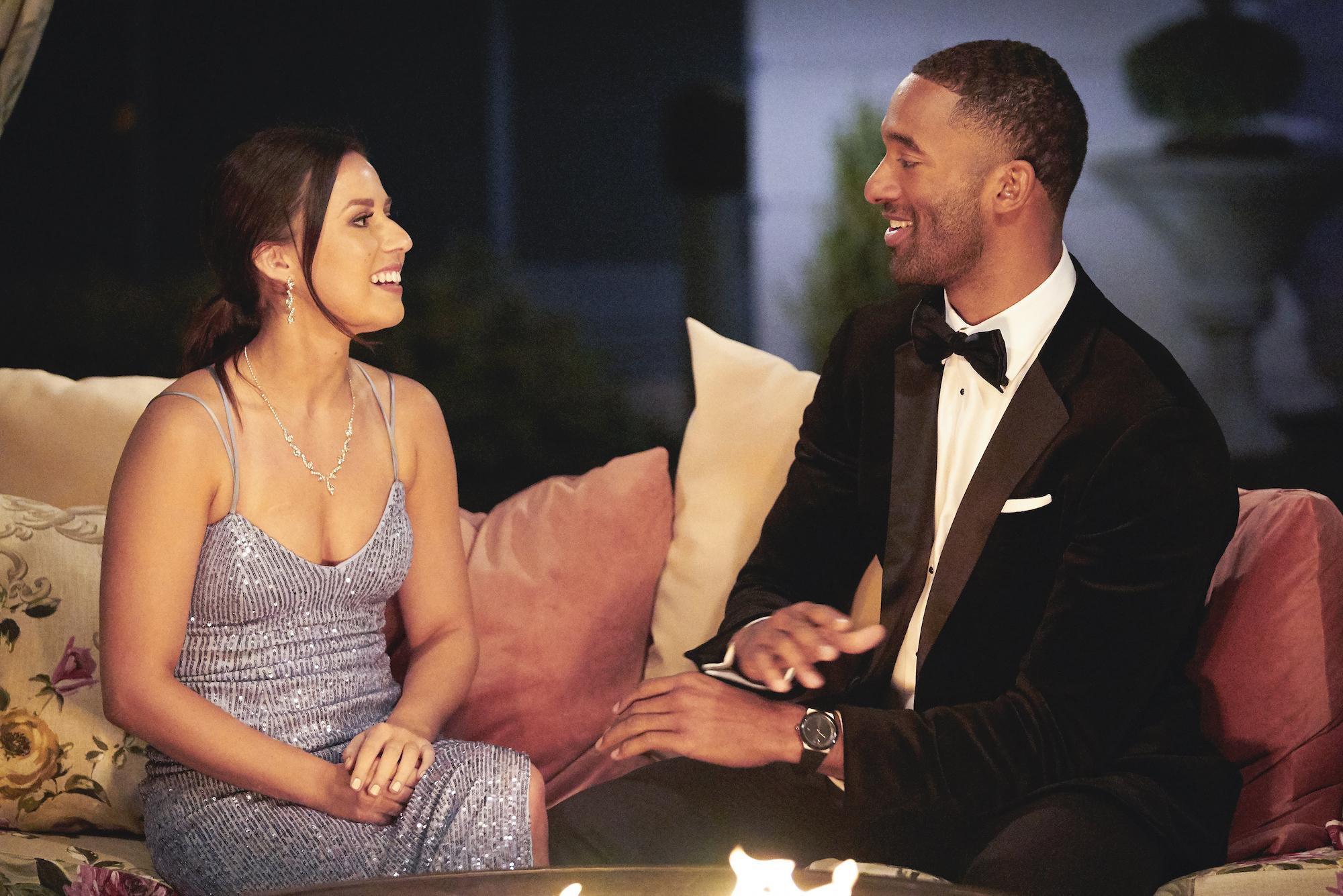 Katie Thurston and Matt James on Night 1 of 'THE BACHELOR'