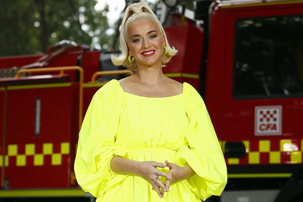 Katy Perry Performs Fight On Concert For Firefighters And Bushfire Victims In Regional Victoria