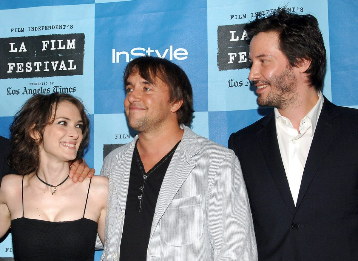 Winona Ryder, Richard Linklater, and Keanu Reeves
