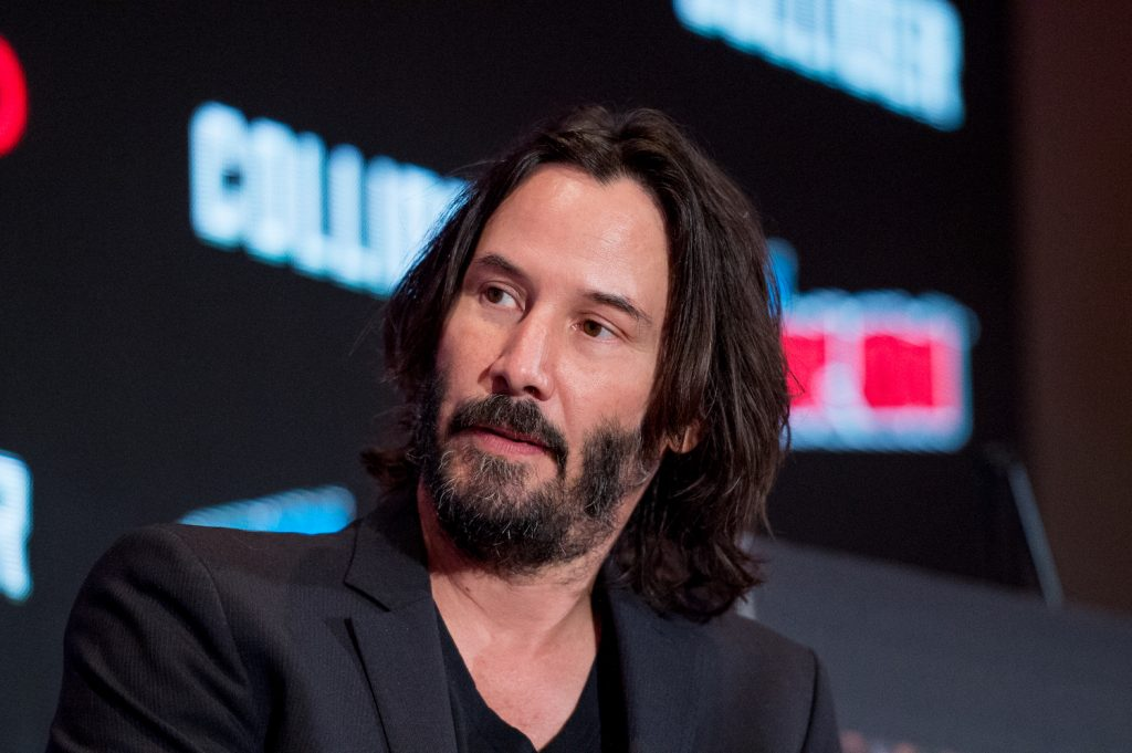 Keanu Reeves discusses 'Replicas' during 2017 New York Comic Con