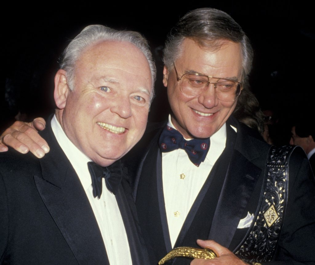 Larry Hagman and Carroll O'Connor