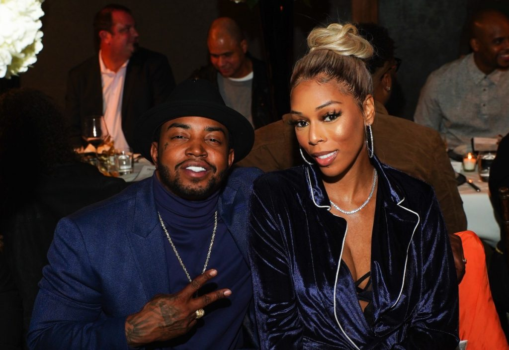 Lil Scrappy and Bambi of Love & Hip Hop