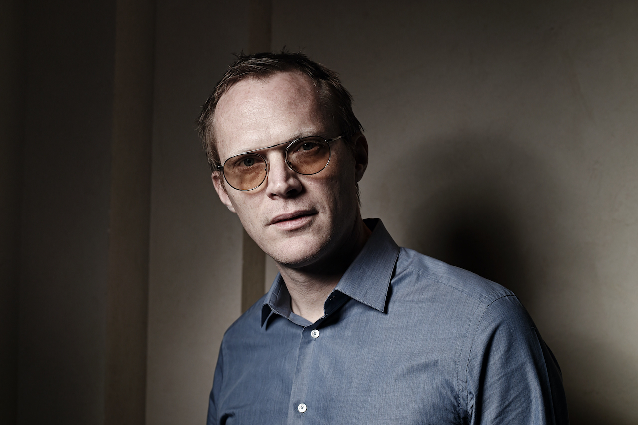 Paul Bettany poses during a portrait session on day three of the 11th Annual Dubai International Film Festival