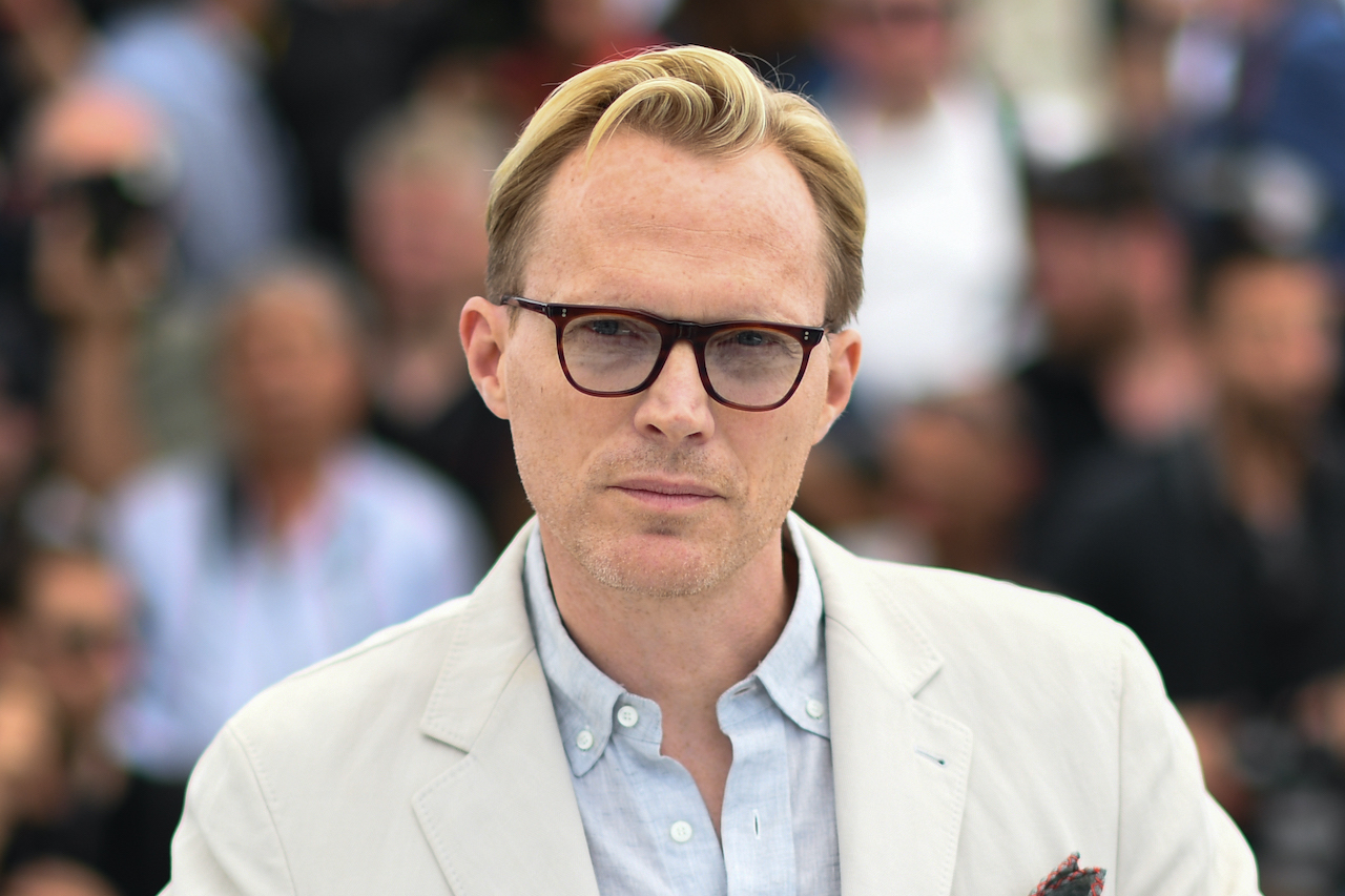 """Paul Bettany during a photocall for the film """"Solo : A Star Wars Story"""""""