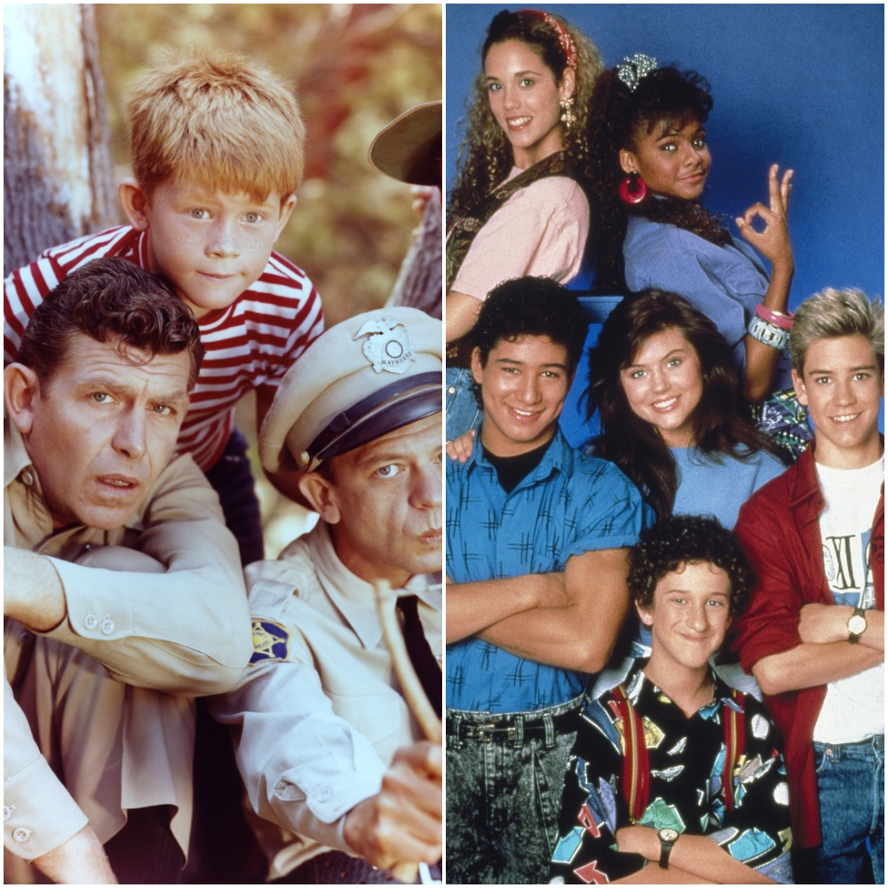 The casts of 'The Andy Griffith Show' and 'Saved By the Bell'