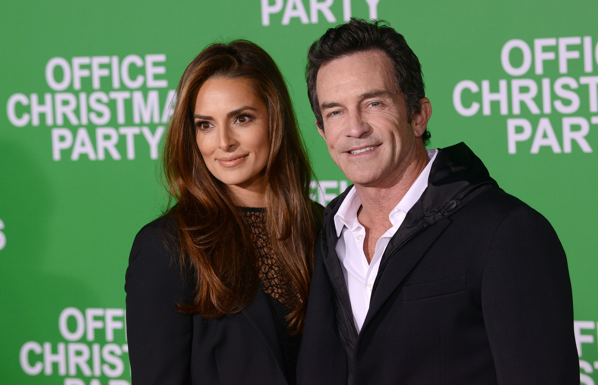 Survivor host Jeff Probst and wife Lisa Ann Russell