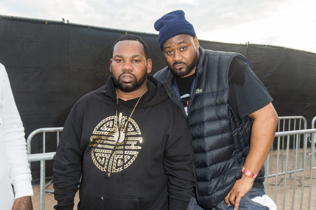 Wu-Tang members Raekwon and Ghostface Killah