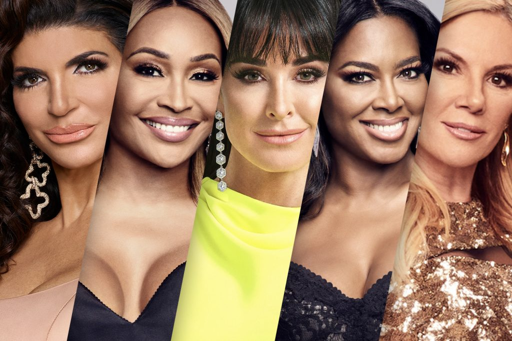 Teresa Giudice, Cynthia Bailey, Kyle Richards, Kenya Moore, and Ramona Singer