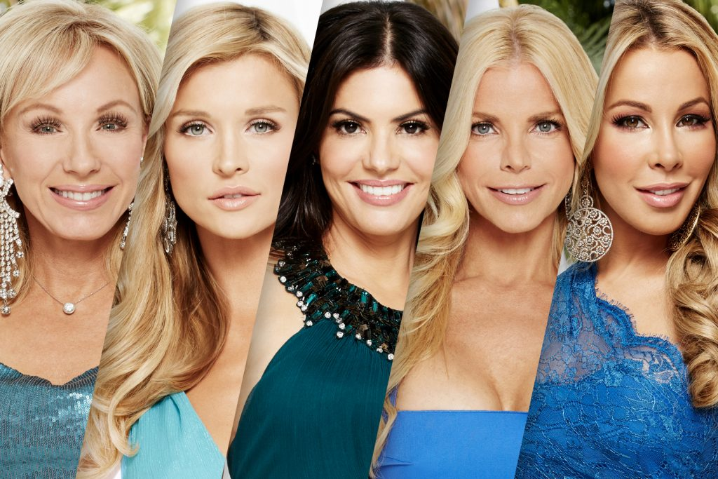 Lea Black, Joanna Krupa, Adriana De Moura, Alexia Echevarria, and Lisa Hochstein of 'The Real Housewives of Miami' | Tommy Garcia/Bravo/NBCU Photo Bank/NBCUniversal via Getty Images