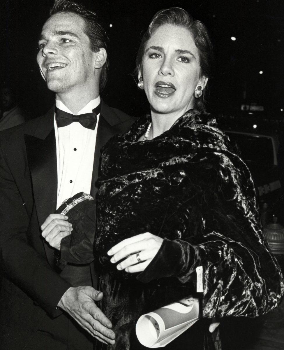 """Bo Brinkman and Melissa Gilbert at the """"Full Moon in Blue Water"""" Premiere"""