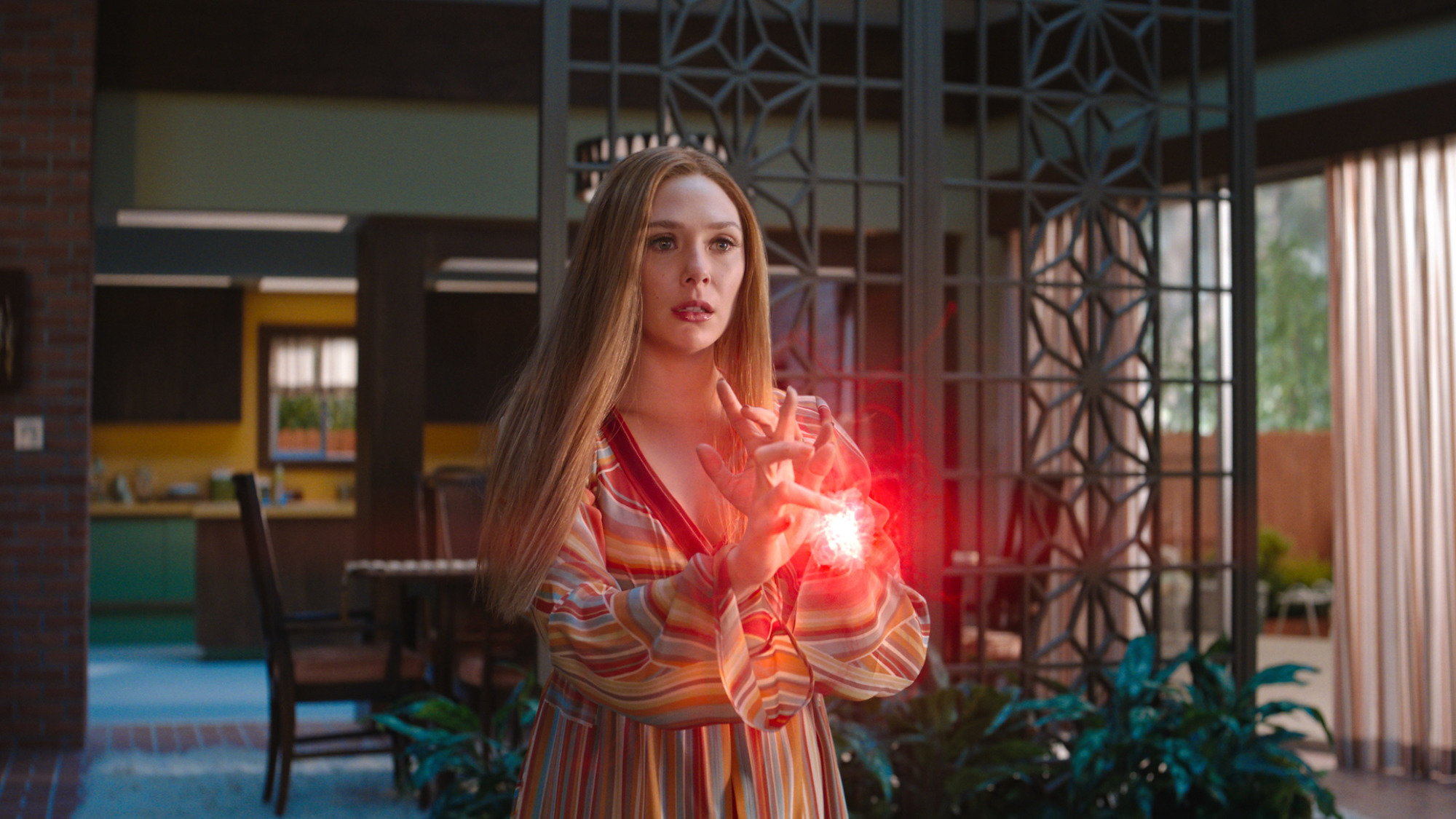 Elizabeth Olsen as Wanda Maximoff in 'WandaVision'