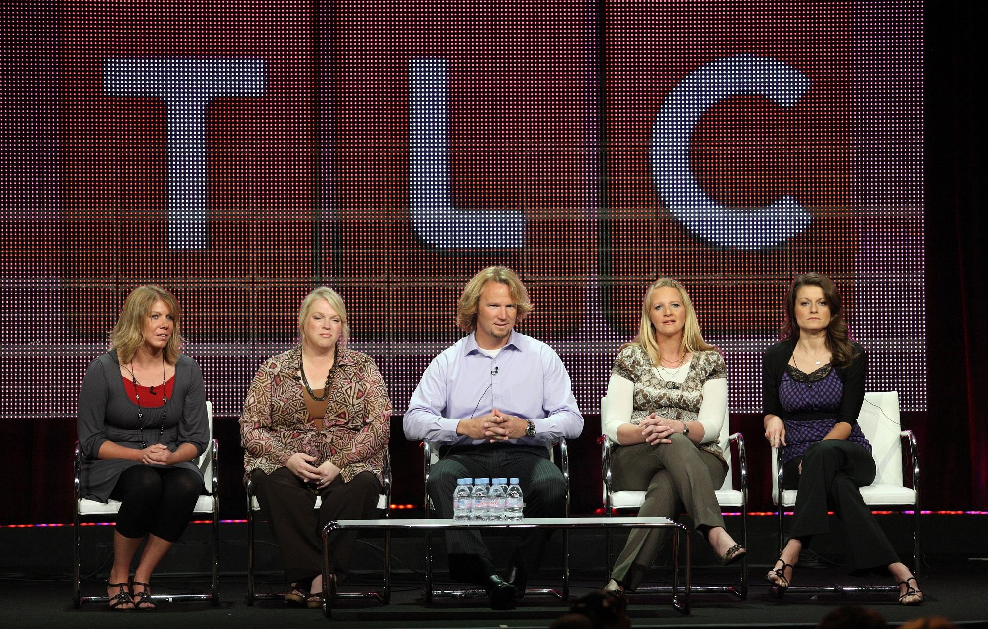 Sister Wives stars Meri Brown, Janelle Brown, Kody Brown, Christine Brown, and Robyn Brown