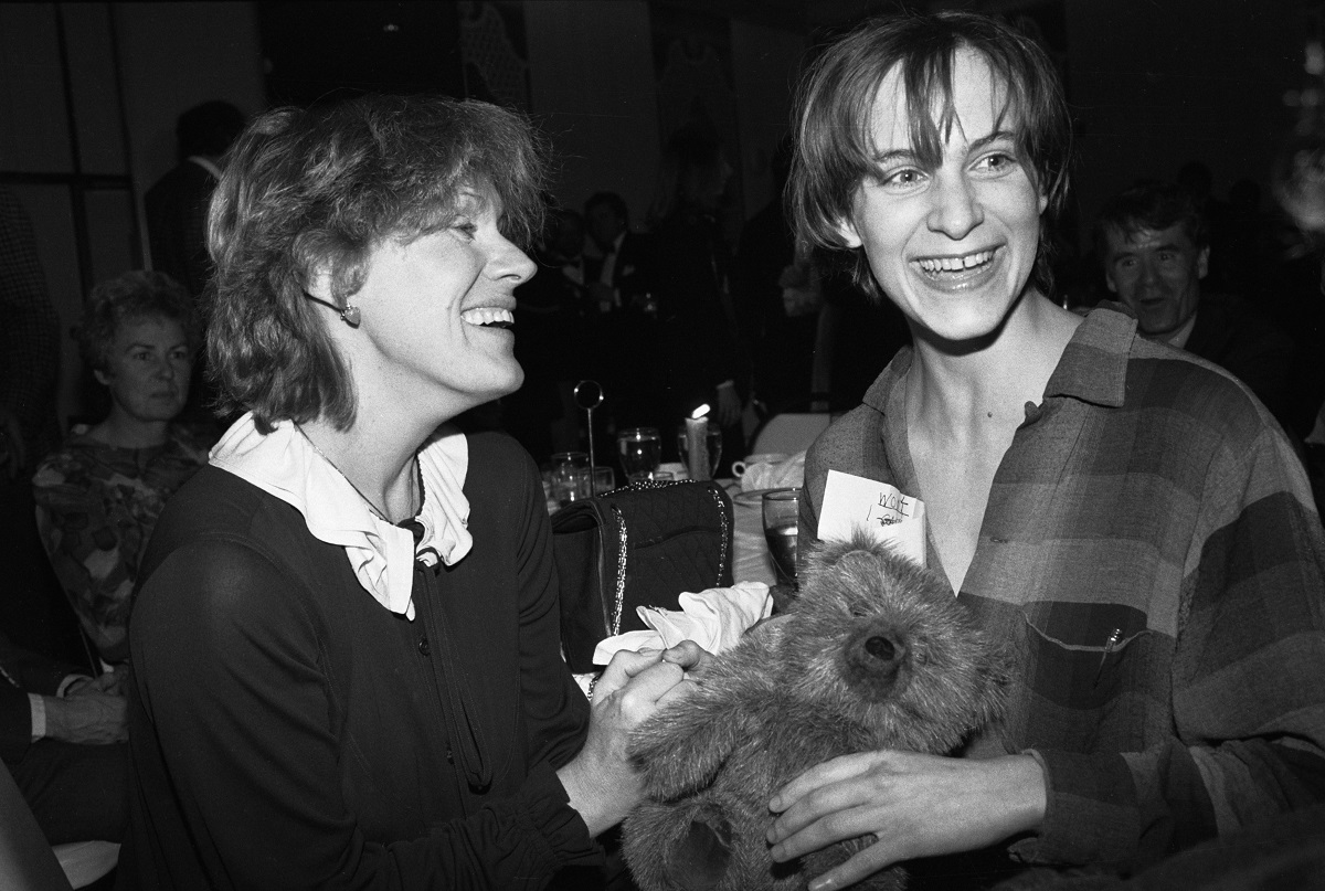 Tammy Grimes and Amanda Plummer