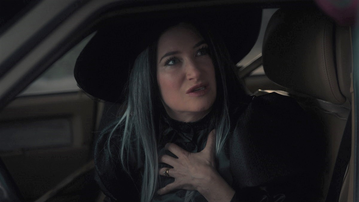 Kathryn Hahn dressed as a witch in 'WandaVision