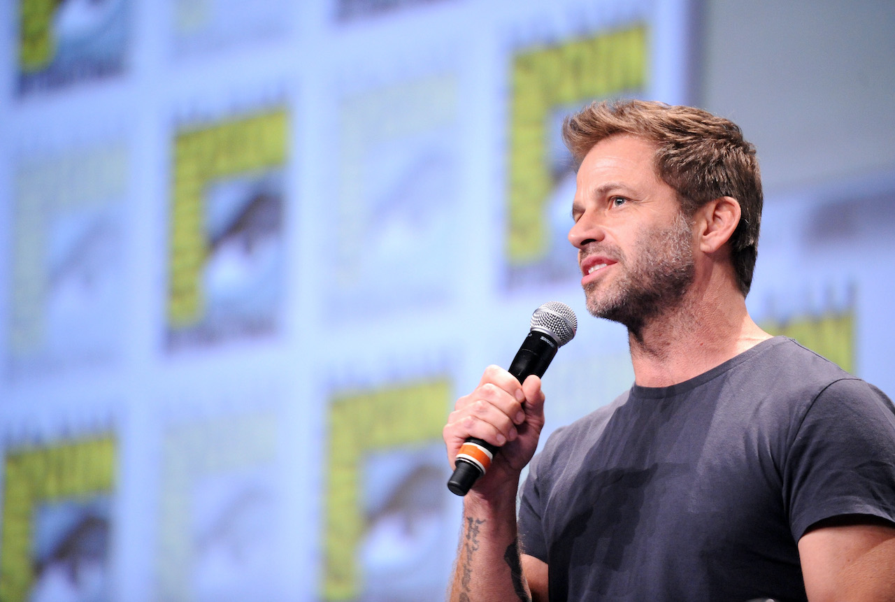 Zack Snyder attends the Warner Bros. Pictures panel and presentation during Comic-Con