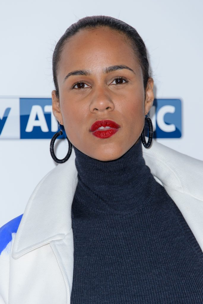 Zawe Ashton and the red carpet at a movie premiere