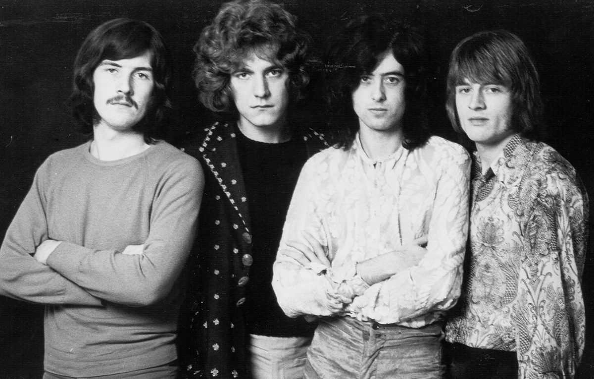 early Led Zeppelin band portrait