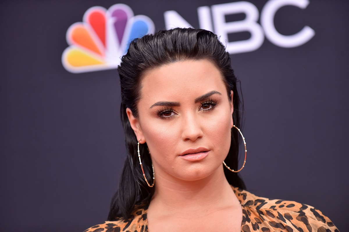 Demi Lovato at the 2018 Billboard Music Awards 2018 on May 20, 2018, in Las Vegas, Nevada.
