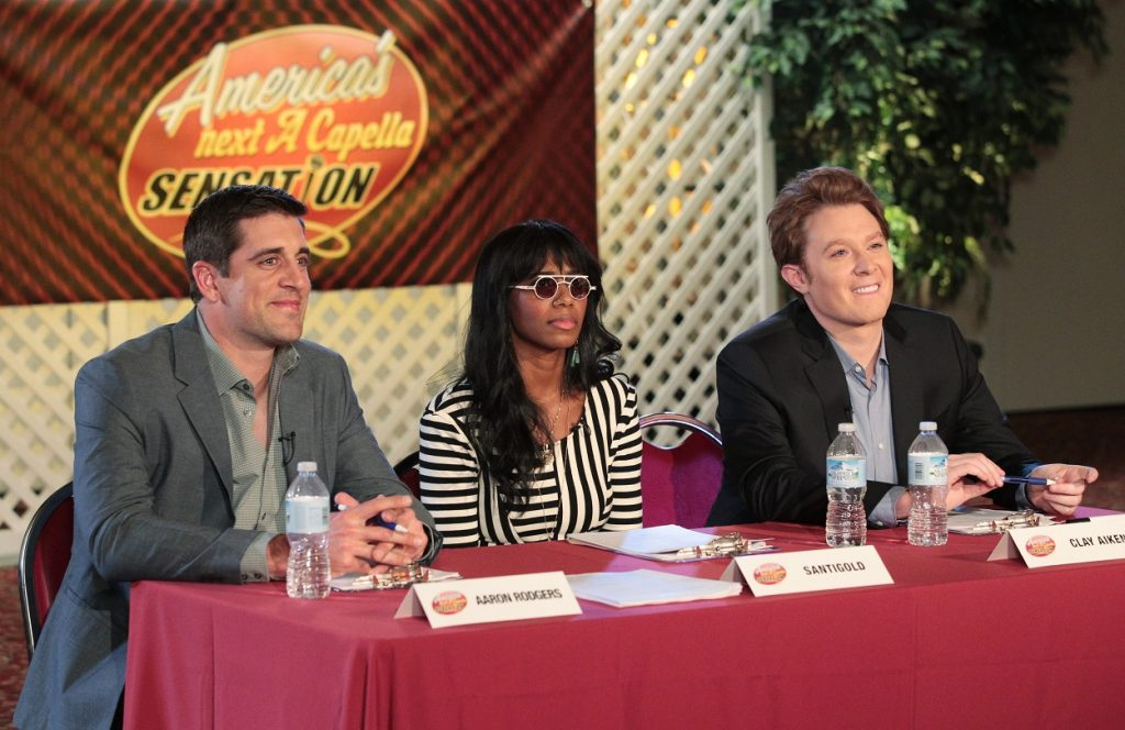 Aaron Rodgers, Santigold, and Clay Aiken on The Office