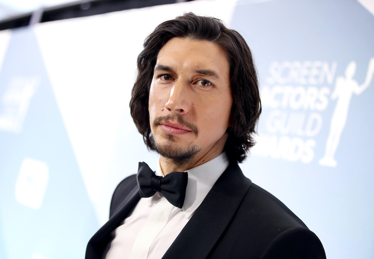 Adam Driver at the 26th Annual Screen Actors Guild Awards in 2020