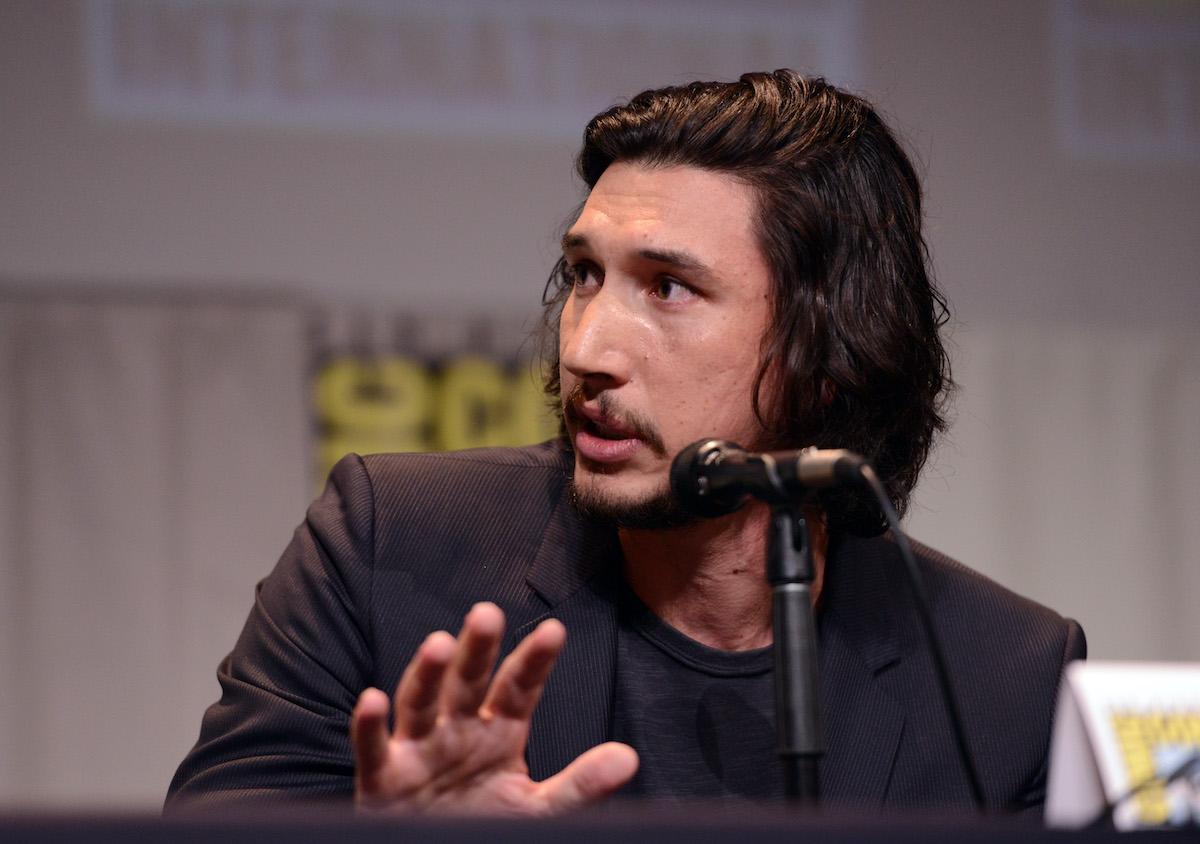 'Star Wars' actor Adam Driver at Comic-Con International 2015