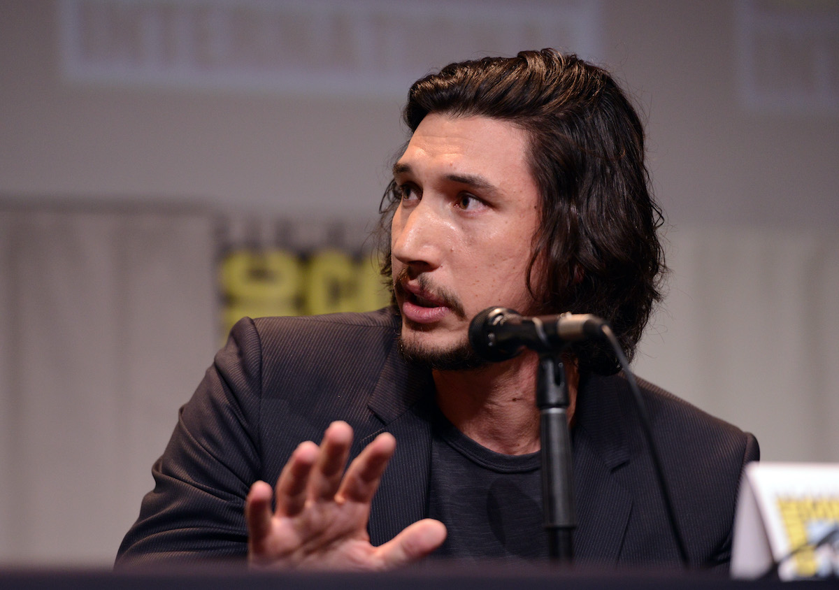 'Star Wars' actor Adam Driver at Comic-Con International 2015. Fans wonder why Adam Driver joined the Marines