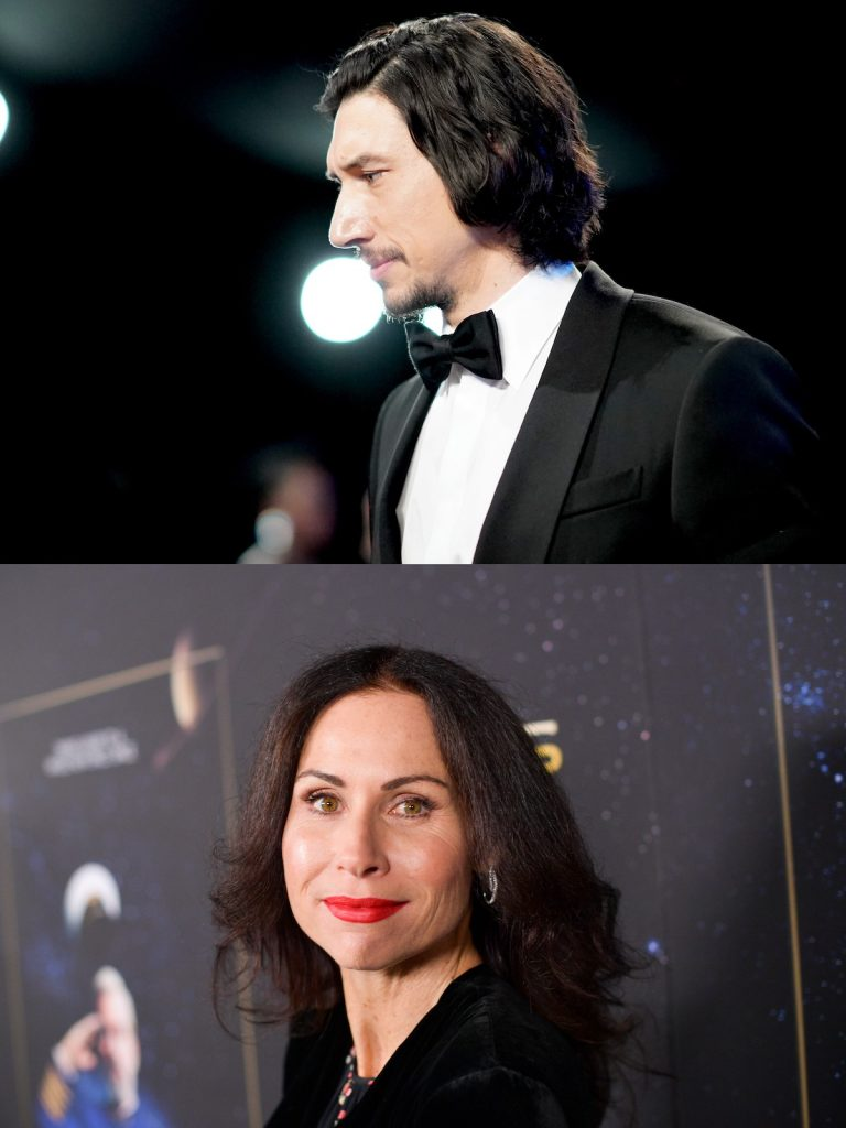 Adam Driver and Minnie Driver, who aren't related