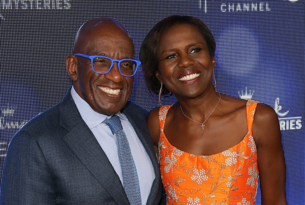 Al Roker of the 'Today Show' and Deborah Roberts attend the Hallmark Channel and Hallmark Movies; Mysteries Summer 2019 TCA Press Tour Event held at a private residence in Beverly Hills, CA