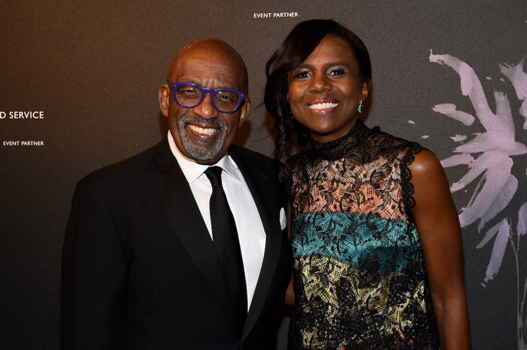 Al Roker and Deborah Roberts attend the Fourth Annual Berggruen Prize Gala celebrating 2019 Laureate Supreme Court Justice Ruth Bader Ginsburg in New York City