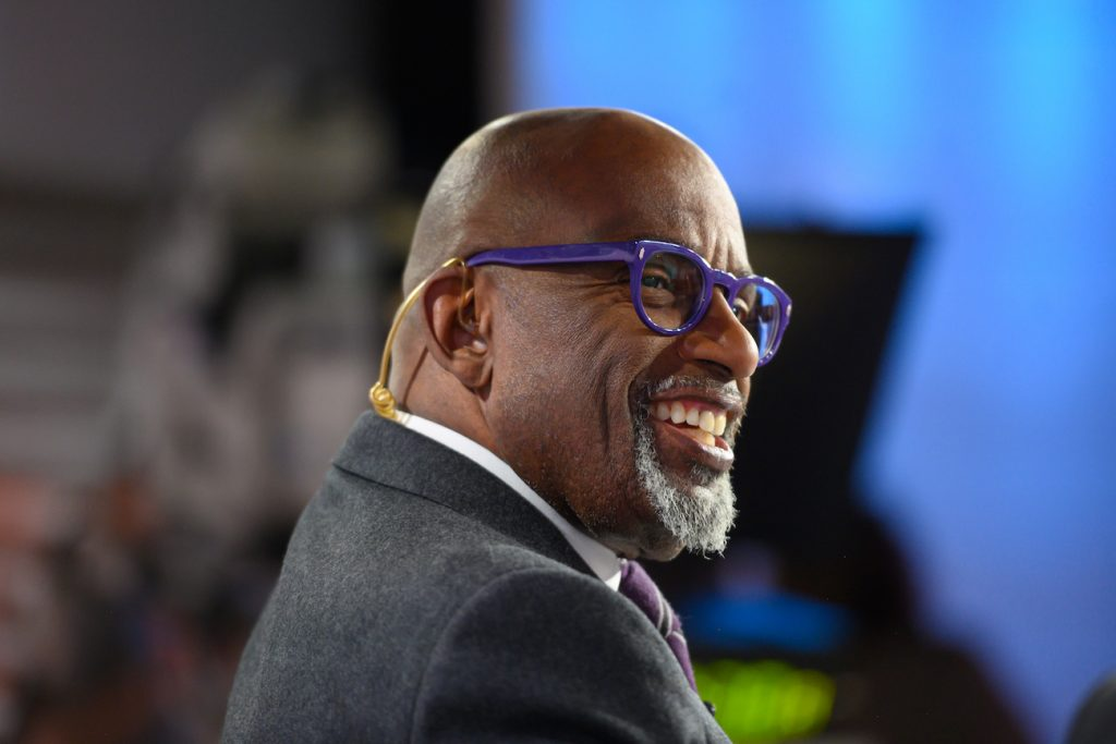 Al Roker on the set of the 'Today Show'