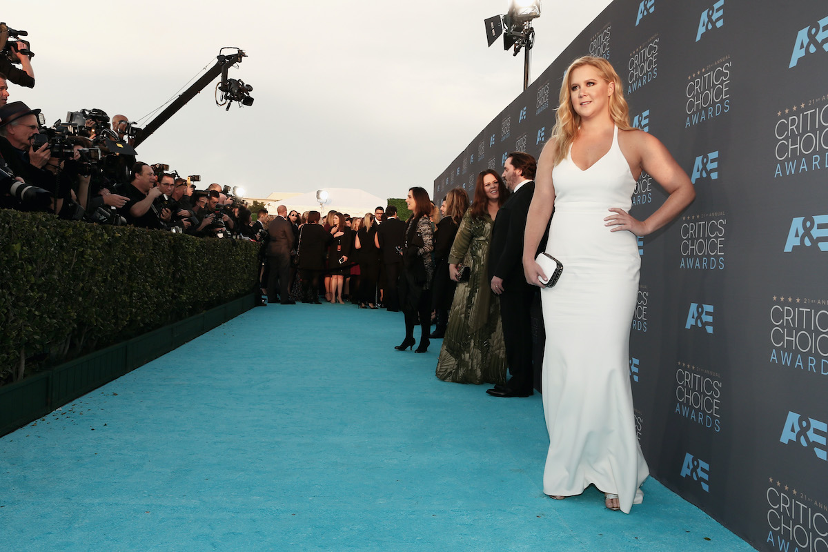 Amy Schumer attends the 21st Annual Critics' Choice Awards in 2016