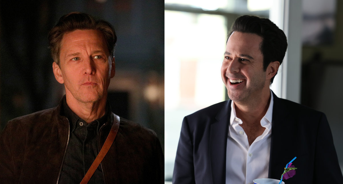 Andrew McCarthy and Jonathan Silverman in 'Good Girls'