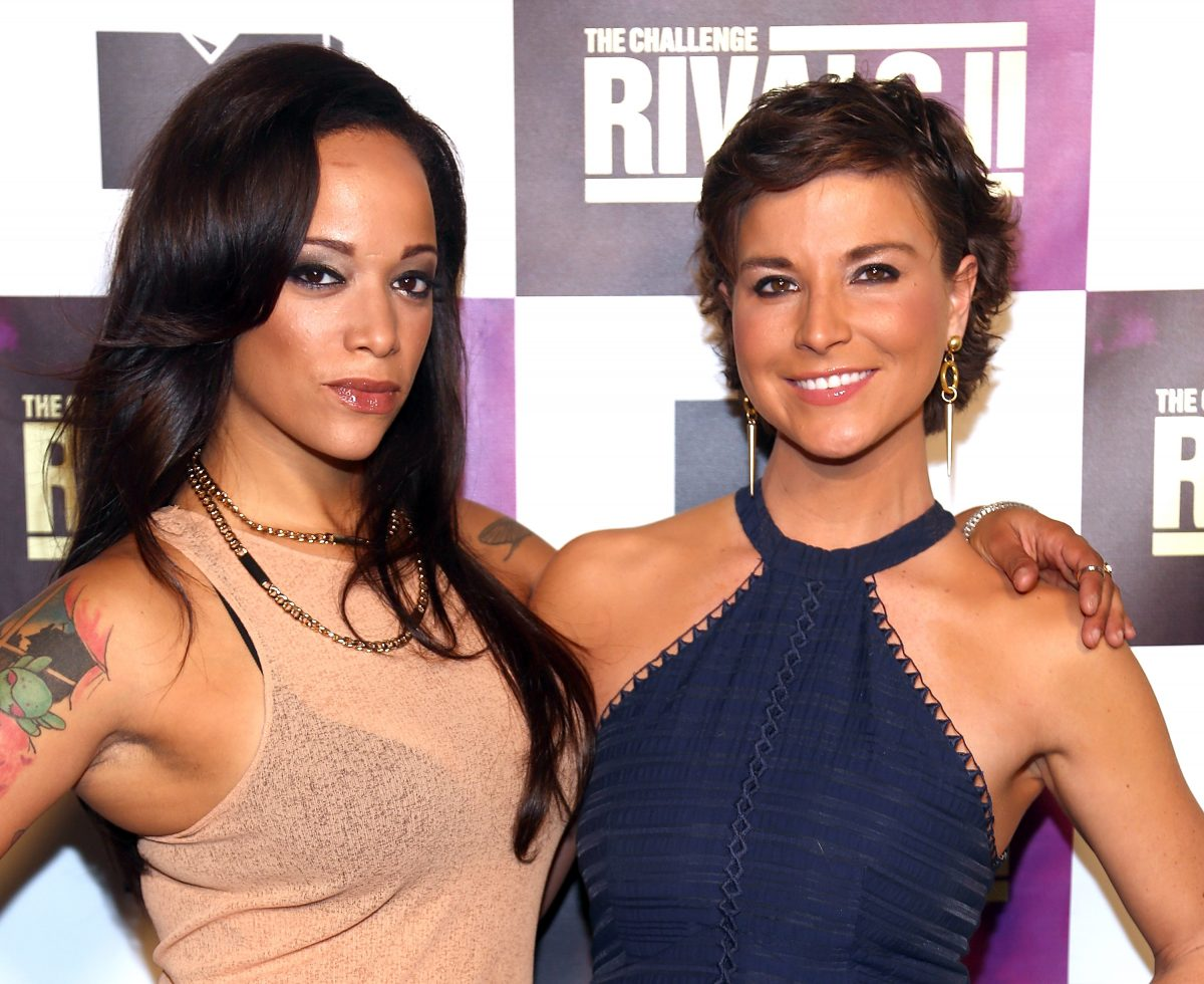 """TV personalities Aneesa Ferreira and Diem Brown attend MTV's """"The Challenge: Rivals II"""" Final Episode and Reunion Party"""