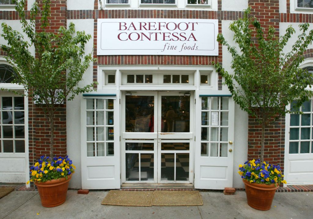 The exterior of Ina Garten's former Barefoot Contessa store in 2002