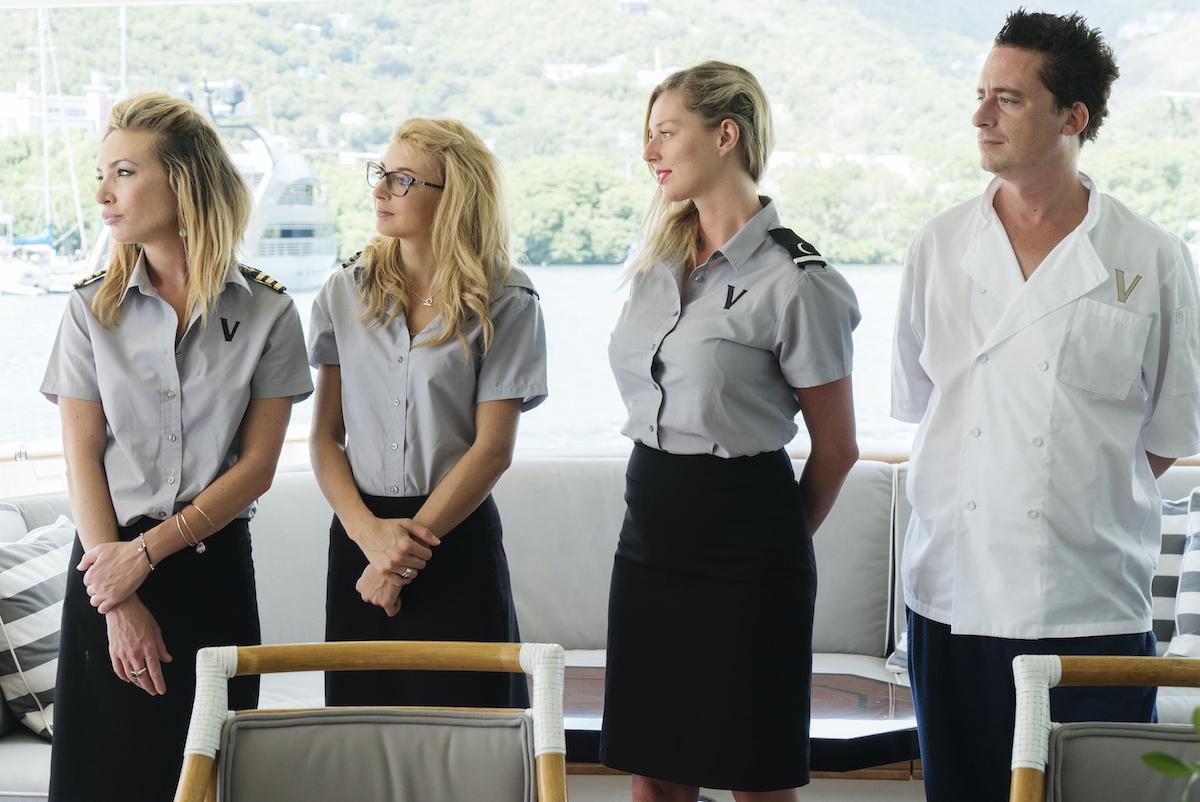 Kate Chastain, Emily Warburton-Adams, Sierra Storm, Ben Robinson greet the guests
