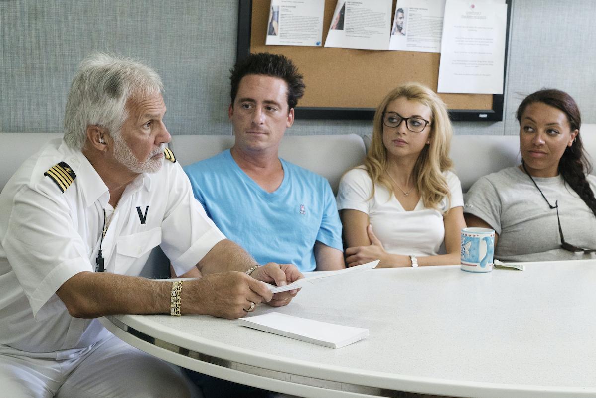 Captain Lee Rosbach, Ben Robinson, Emily Warburton-Adams, Lauren Burchell from 'Below Deck' Season 4