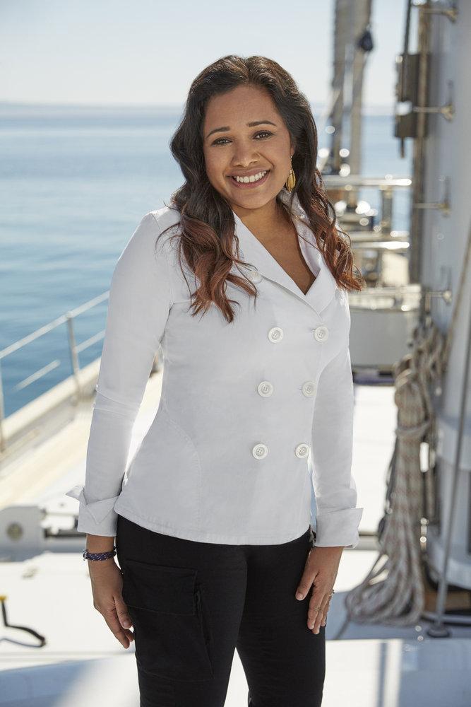 Natasha de Bourg 'Below Deck Sailing Yacht' cast photo