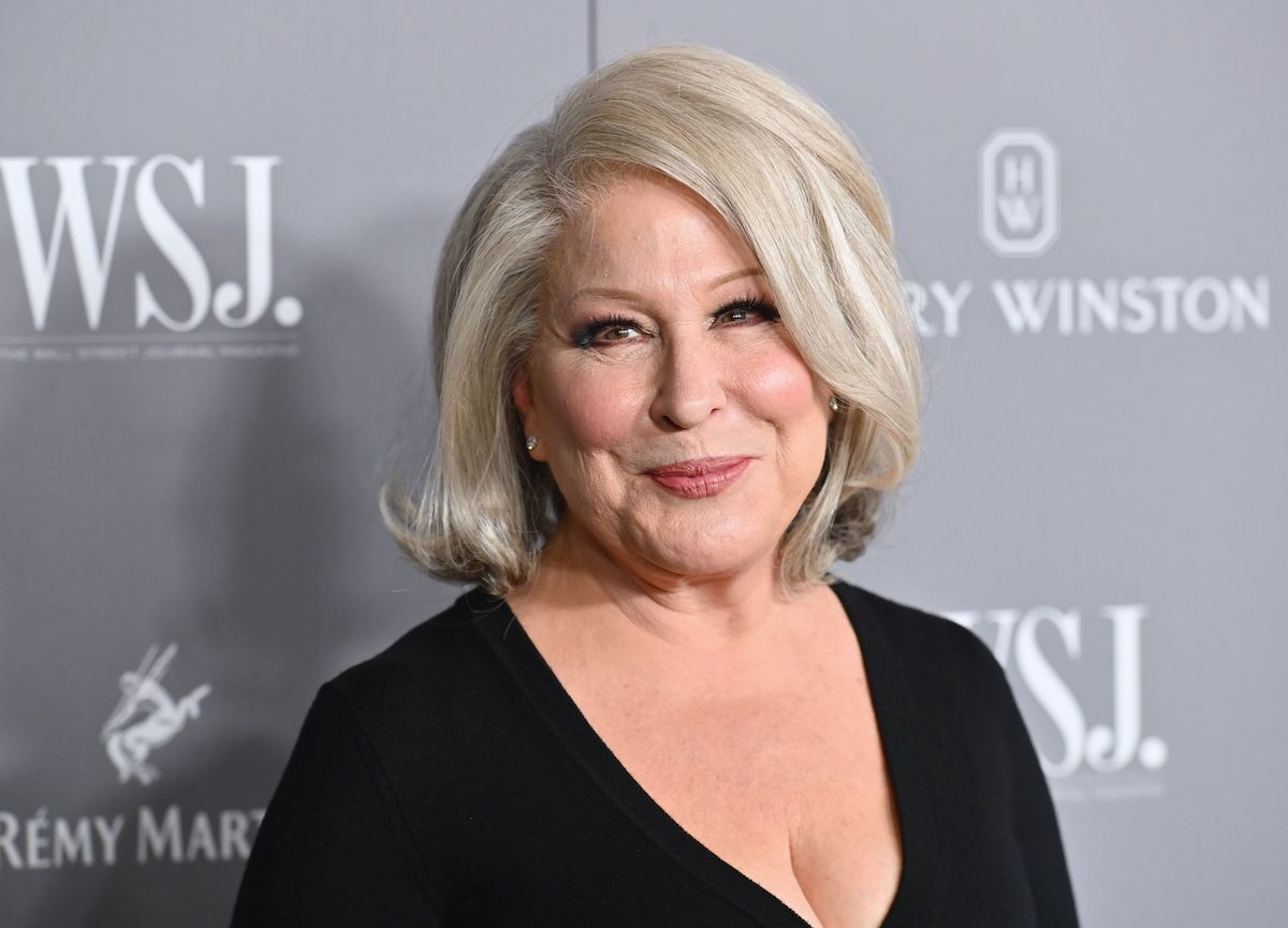 Bette Midler smiles as she poses for cameras at the 2019 WSJ Magazine Innovator Awards