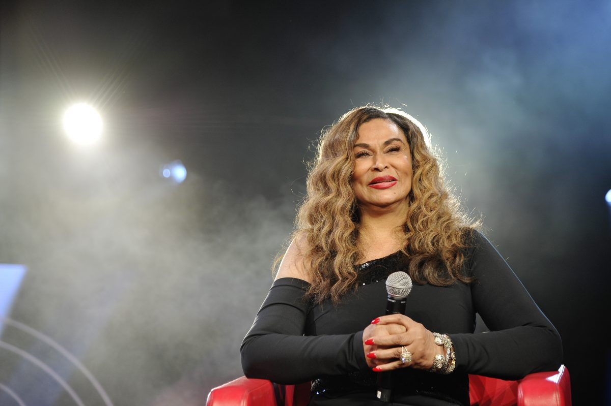 Beyoncé mom Tina Knowles at Beautycon